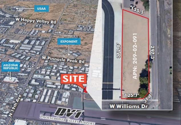 1502 W Williams Dr, Phoenix AZ 85027 Commercial Land
