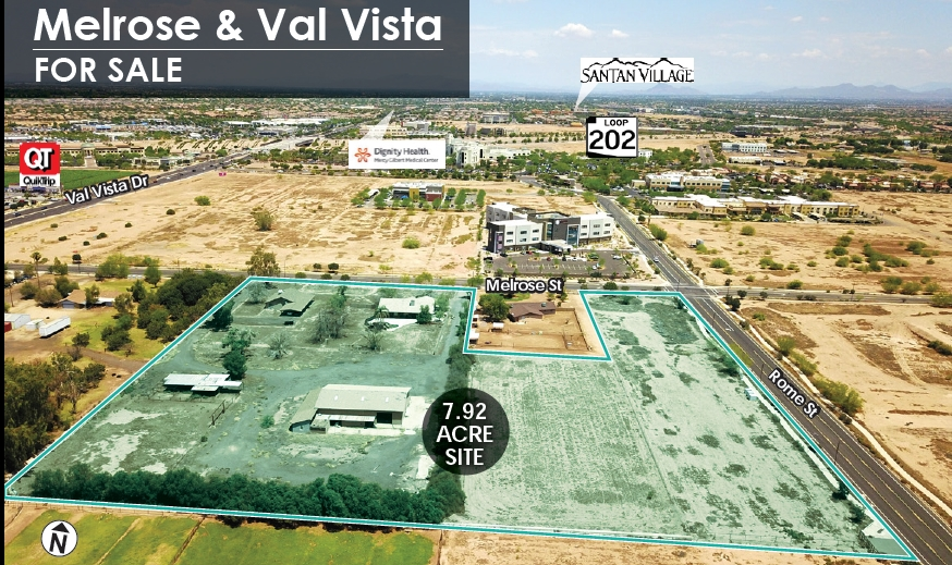 15309 E Melrose St, Gilbert AZ 85297 Commercial Land