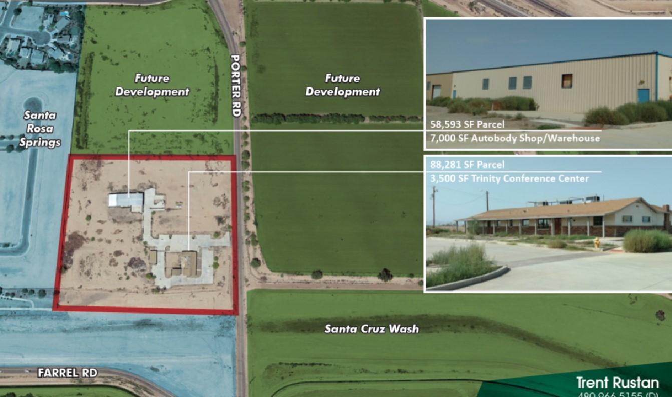 16540 N Porter Rd, Maricopa AZ 85138 Commercial Land