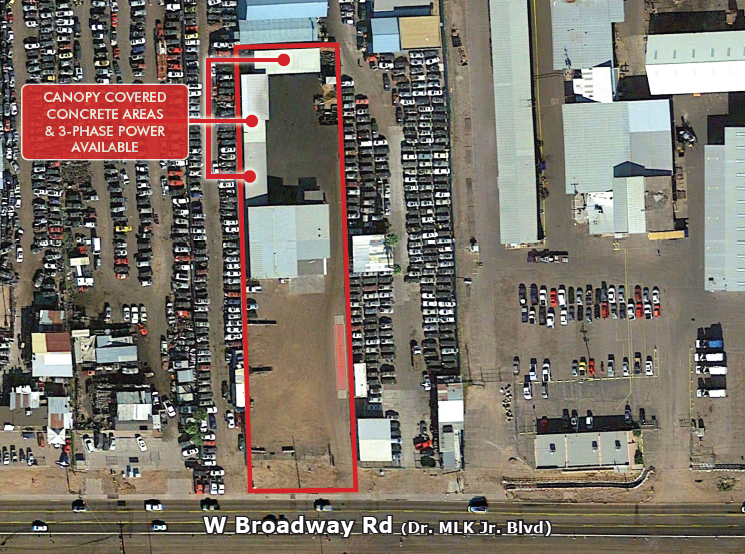 1966 W Broadway Rd, Phoenix AZ 85041 Industrial Manufacturing