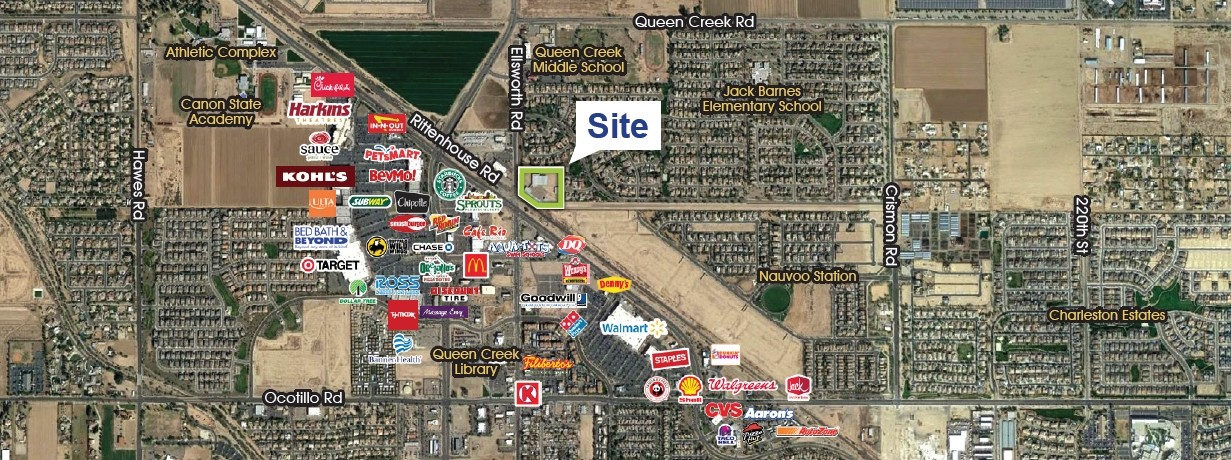 20835 S Ellsworth Rd, Queen Creek AZ 85142 Industrial Land