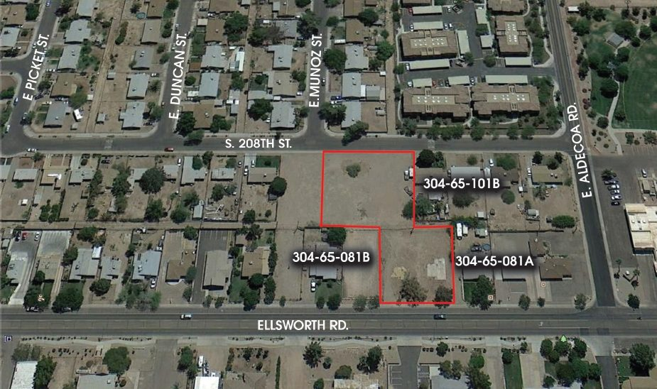 22225 S Ellsworth Rd, Queen Creek AZ 85142 Residential Land