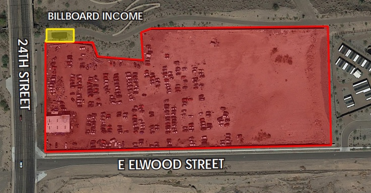 3555 S 24th St, Phoenix AZ 85040 Industrial Land