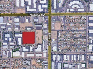3602 W Cambridge Ave, Phoenix AZ 85009 Industrial Land