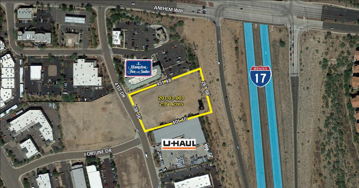 42405 N 41st Dr, Anthem AZ 85086 Commercial Land