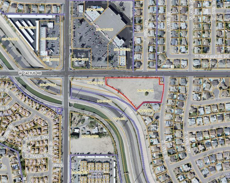 5051 W Cactus Rd, Glendale AZ 85304 Commercial Land