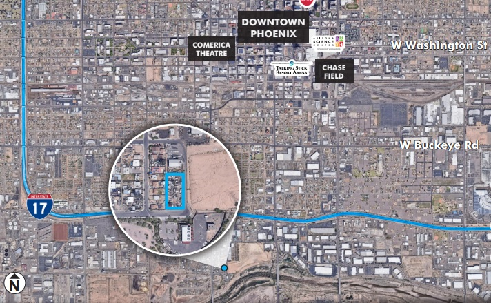 510 W Lower Buckeye Rd, Phoenix AZ 85003 Commercial Land