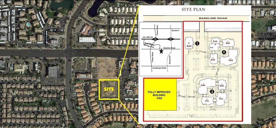 7227 E Baseline Rd, Mesa AZ 85209 Commercial Land