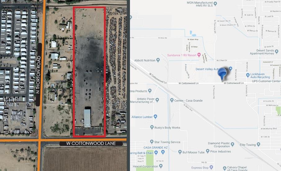 964 W Cottonwood Ln, Casa Grande AZ 85122 Industrial Land