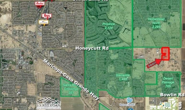 40435 W Honeycutt Rd, Maricopa AZ 85239 Commercial Land